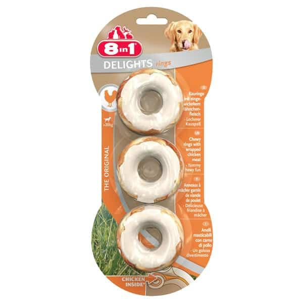 8in1 Delights Ringe Hundesnacks