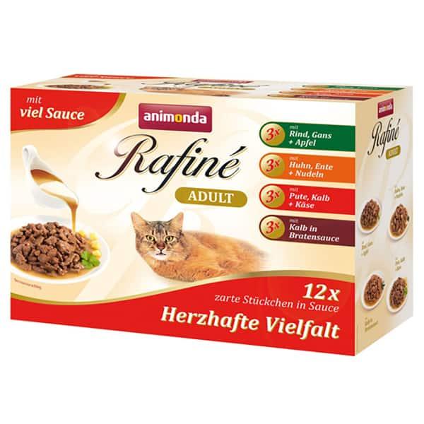 Animonda Rafine Sauce Multipack Adult Mix