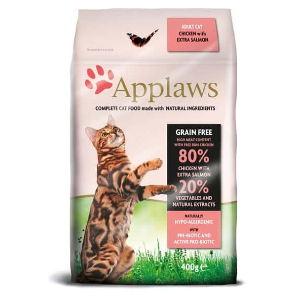 Applaws getreidefrei Katzenfutter Adult mit Huhn und Lachs