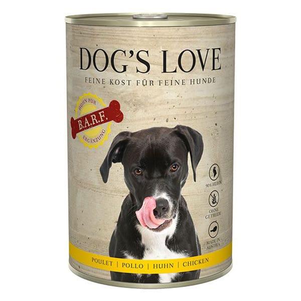 BARF Hundefutter Dogs Love 100% Natur Huhn