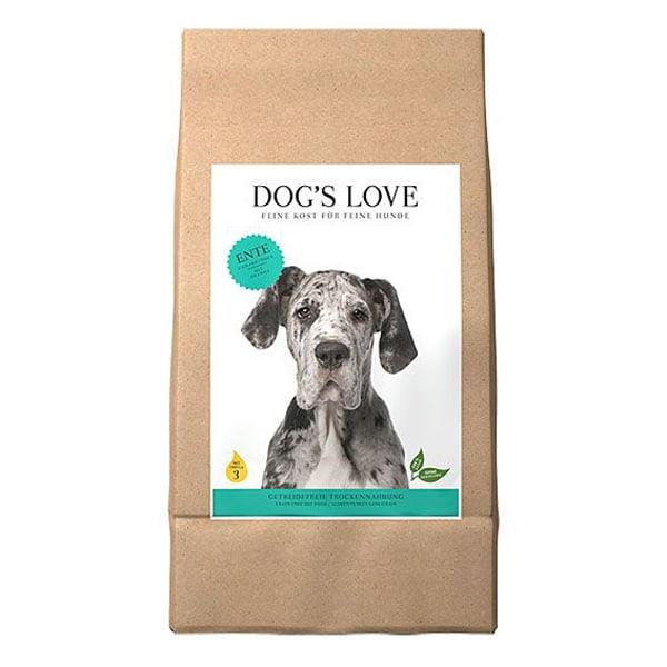 DOGS LOVE Hypoallergen Ente Katroffel Trockenfutter 2Kg