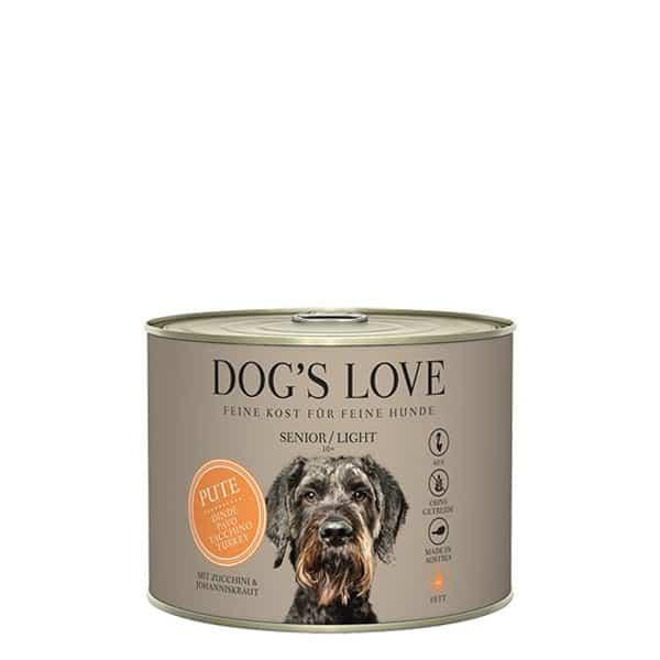 DOGS LOVE Senior Light Pute Obst Nassfutter 200g