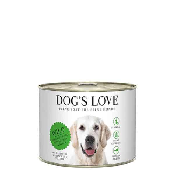 DOGS Love Classic Wild Süßkartoffel 200g