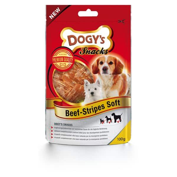Dogy's Beef Stripes Soft Hundesnacks
