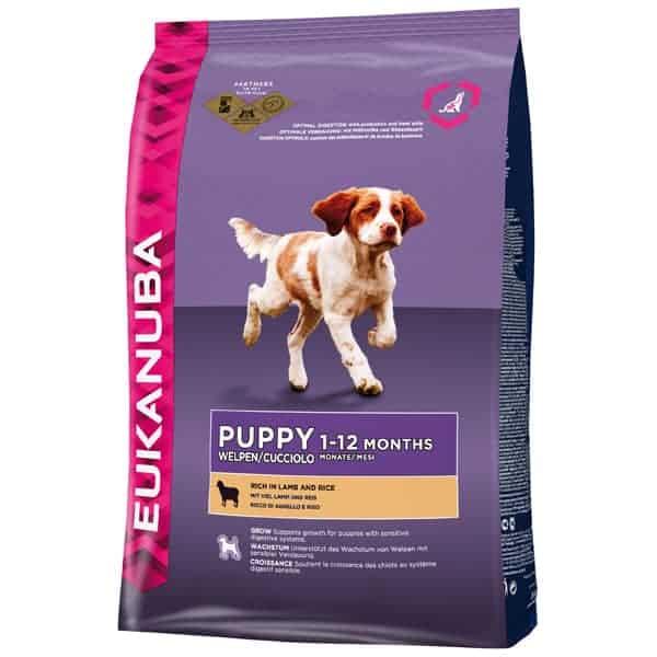 Eukanuba Puppy Welpenfutter mit Lamm und Reis