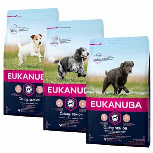 Eukanuba Senior Caring Hundefutter