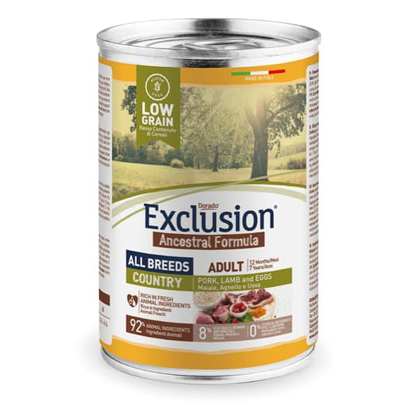 Exclusion Country Adult Nassfutter All Breeds