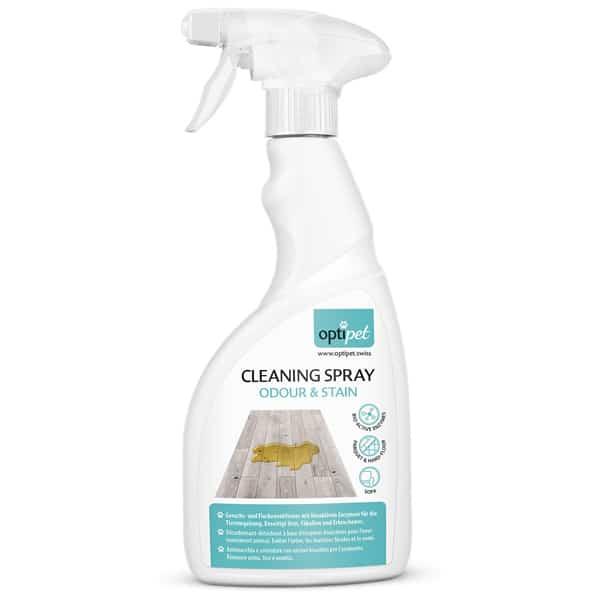 Fleckentferner Optipet Cleaning Spray Odour Stain