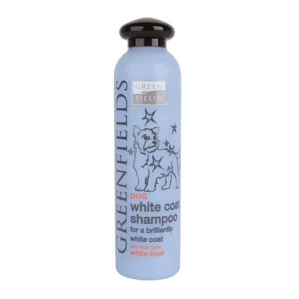 Greenfields White Coat Shampoo für brilliantes weisses Fe