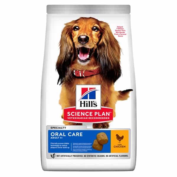 Hills Hundefutter Oral Care Science Plan 2Kg