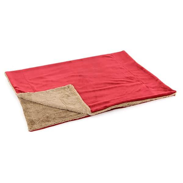 Hundedecke Rot Sofa Swisspet Rouge rot braun
