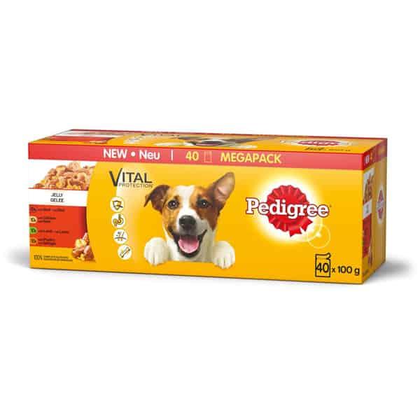Hundefutter Pedigree Vital Protection Multipack 40 x 100g