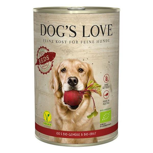 Hundefutter Vegan BIO Dogs Love RED Gemüse Obst