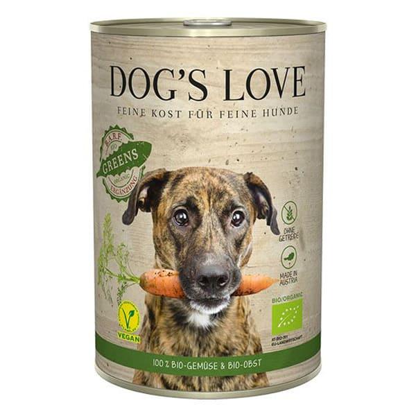 Hundefutter Vegan BIO Green bestes natural Gemüse Obst