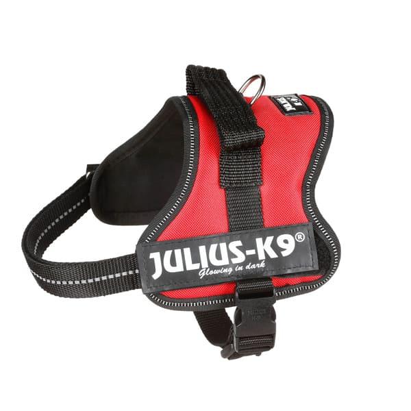 Hundegeschirr Julius K9 Rot reflektierend Mini-Mini