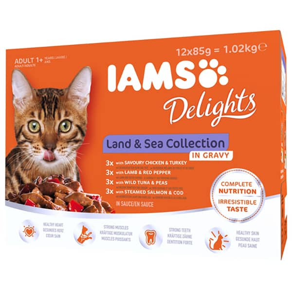 IAMS Delights Land and Sea Collection