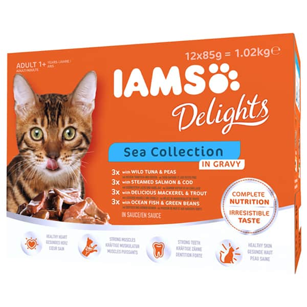 IAMS Delights Sea Collection Multipack
