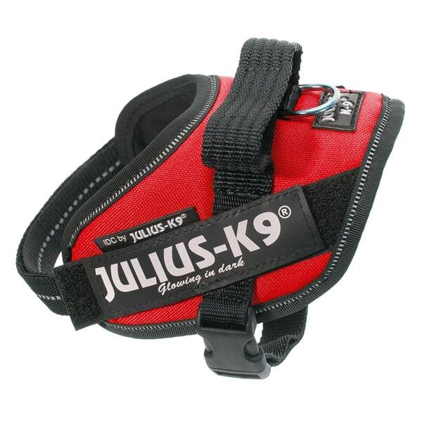 Julius K9 IDC Hundegeschirr rot ergonomischem Design Mini-Mini