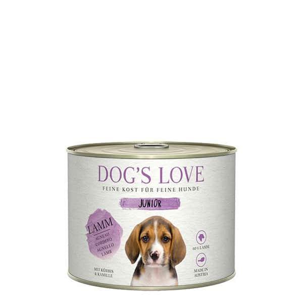Junior Lamm DOGS LOVE Welpenfutter 200g