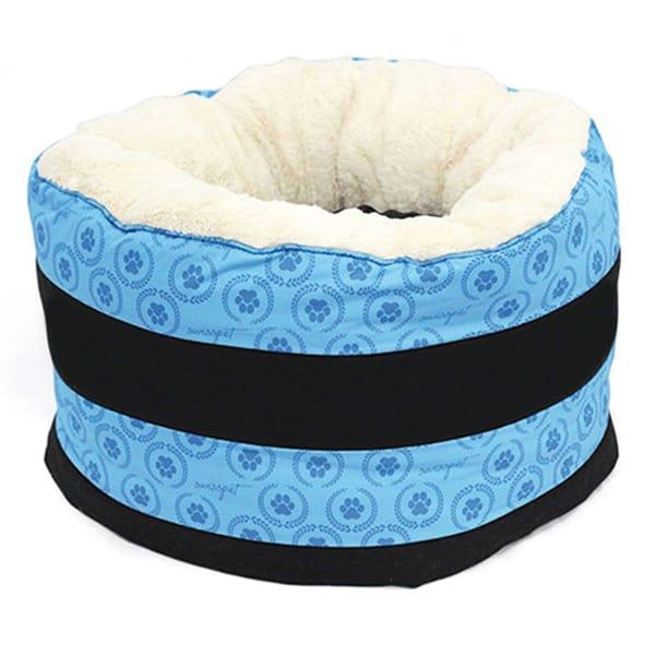 Katzen Donut Swisspet Katzenbett Maxi-Donut Pawi blau