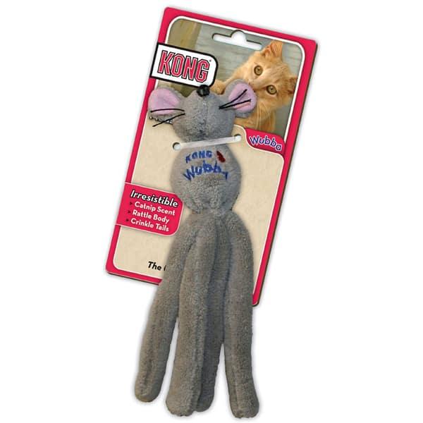 Maus Katzenspielzeug - Kong Cat Wubba Mouse