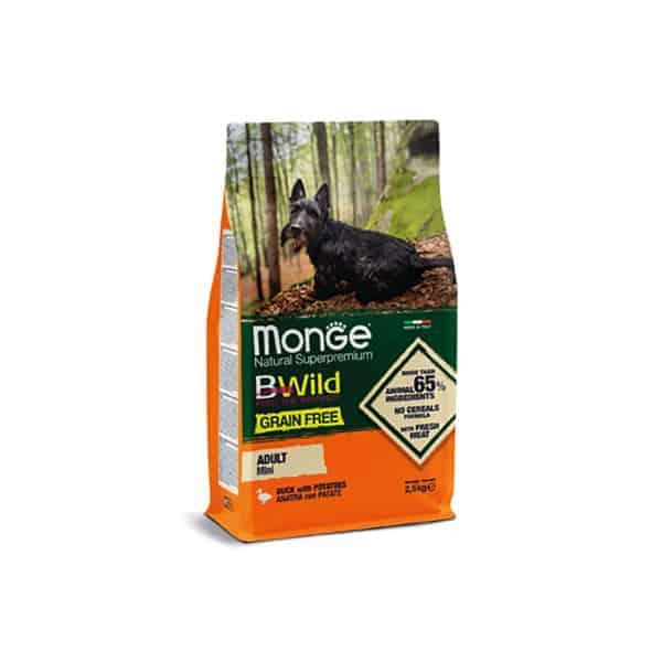 Monge B-Wild Grain Free Mini Rassen