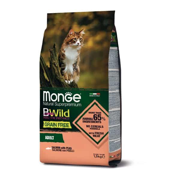 Monge Cat Bwild Grain Free Lachs