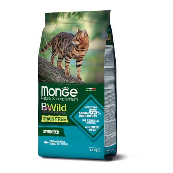 Monge Sterilised Cat BWild ohne Getreide
