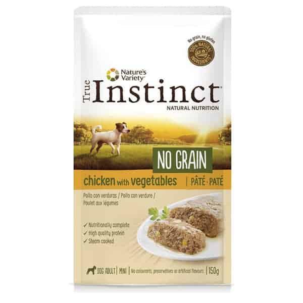 Nassfutter True Instinct kleine Hunde No Grain