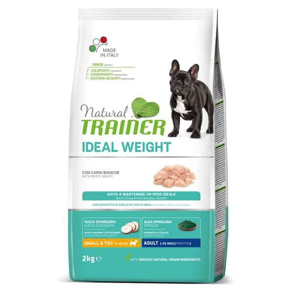 Natural Trainer Ideal Weight Trockenfutter kleine erwachsene Hunde