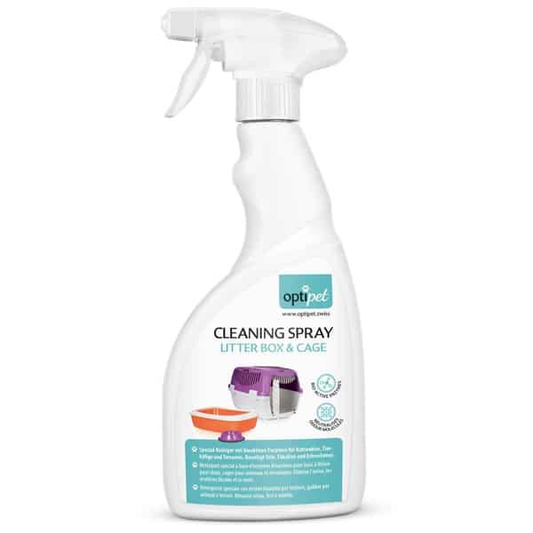 Reinigung Katzenklo Optipet Cleaning Spray