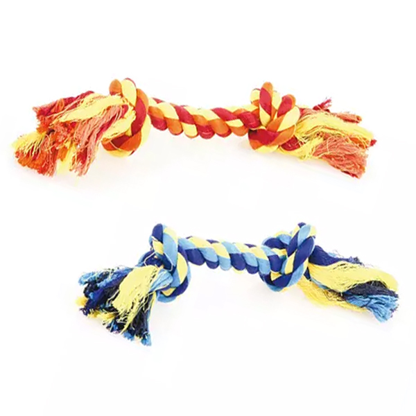 Seilspielzeug Dental Seil mit 2 Knoten