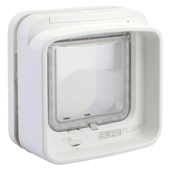 SureFlap Katzenklappe Mikrochip DualScan weiss