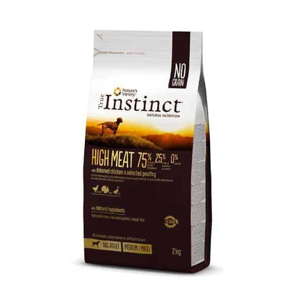 True Instinct HIGH MEAT Medium Maxi