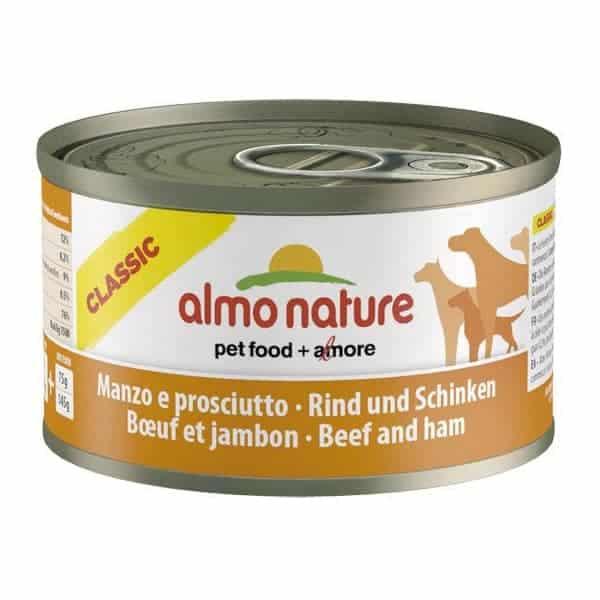 almo nature dosenfutter hunde rindfleisch