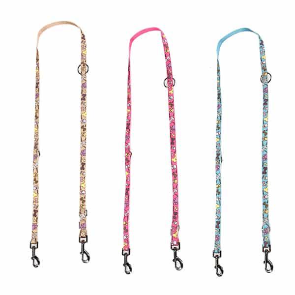 dog collar leash bone von swisspet