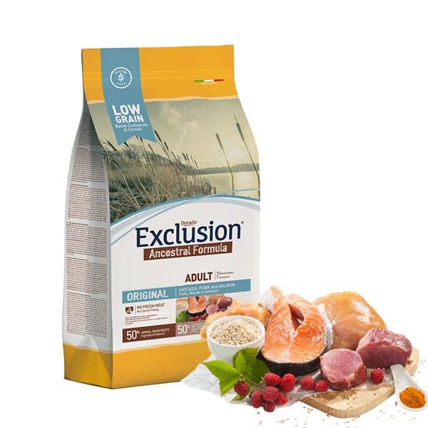 exclusion trockenfutter low grain original