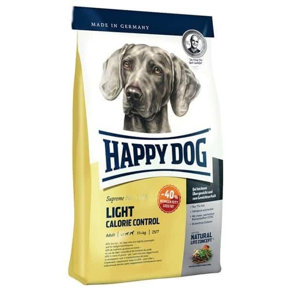 happy dog supreme light natural life concept