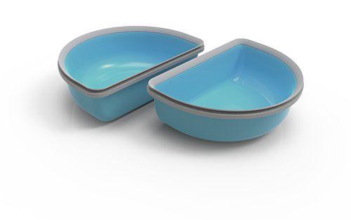 haustier futtergeraet kaufen d blau