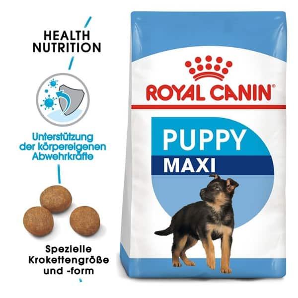 royal canin puppy maxi schweiz welpen