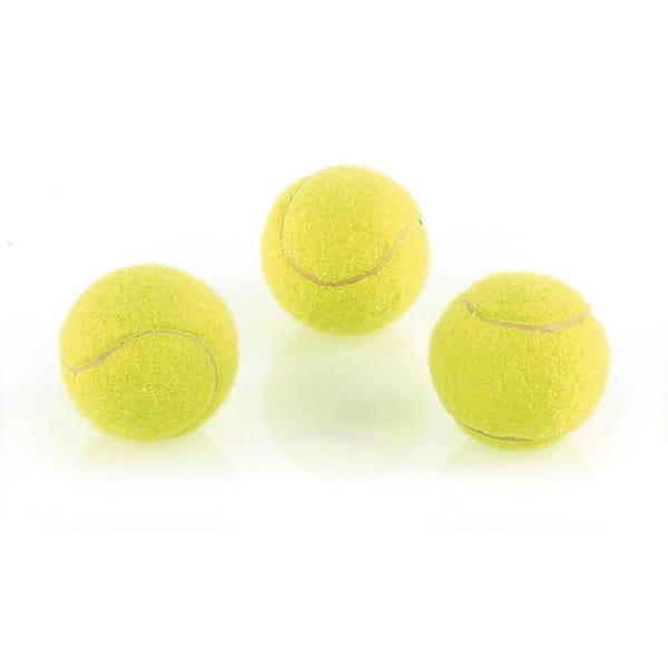 swisspet Hundespielzeug Mini-Tennisbälle 3St