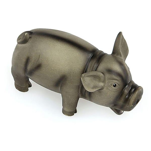swisspet Latex-Schwein schwarz 15x8x8cm schwarz