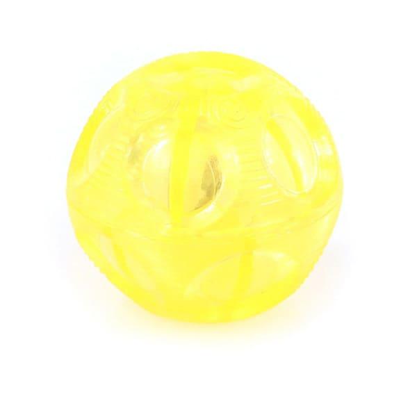 swisspet Leucht-Ball Lumo gelb
