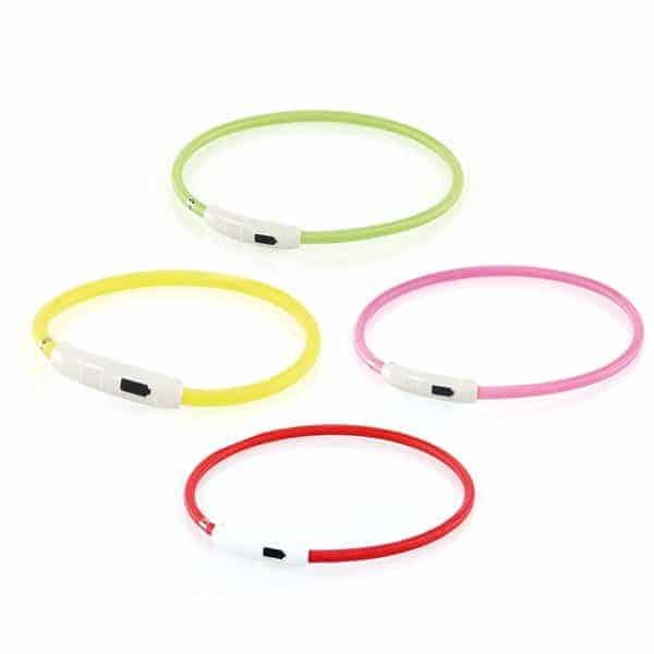 swisspet Universal-Leuchthalsband Plus